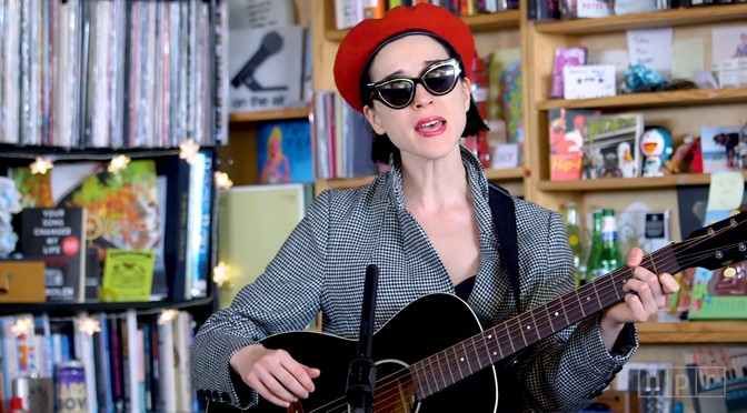 New St. Vincent Tiny Desk Concert