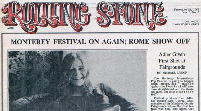 50 Years Ago in Rolling Stone: Issue 6