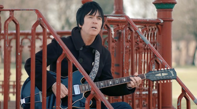 New Johnny Marr video: Hi Hello