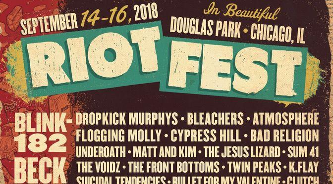 Riot Fest: The Music Fest for Grownups