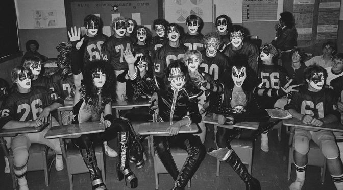 When KISS rocked Cadillac, Michigan