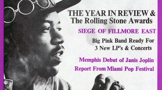 50 Years Ago in Rolling Stone: Issue 26