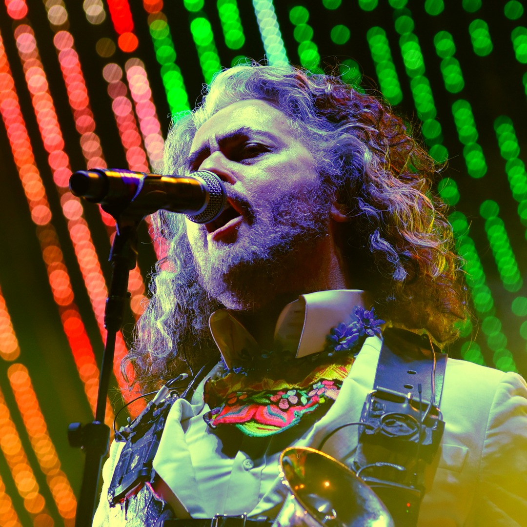 The Flaming Lips at the Roots stage on Friday.