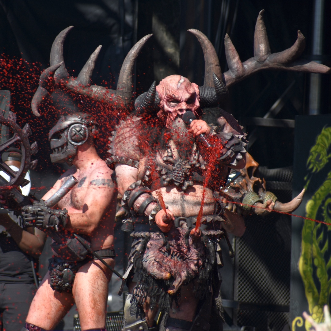 GWAR at the Riot stage on Saturday.