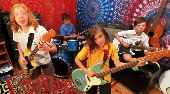 New band of Aussie tweeners, the Rellies: Isabella Is Annoying